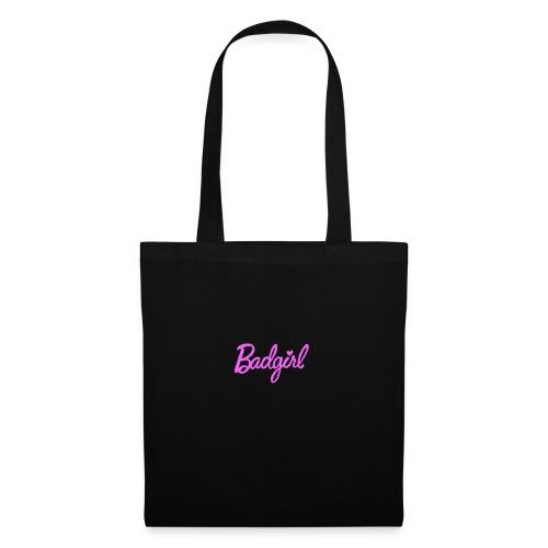 badgirl - Stoffbeutel