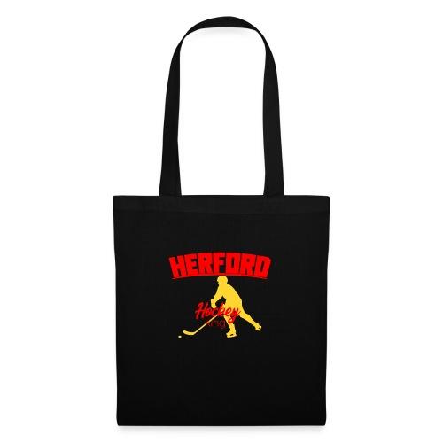 Herford Hockey red - Stoffbeutel