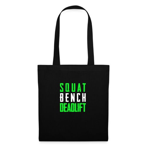 Squat Bench Deadlift 2 Hell - Stoffbeutel