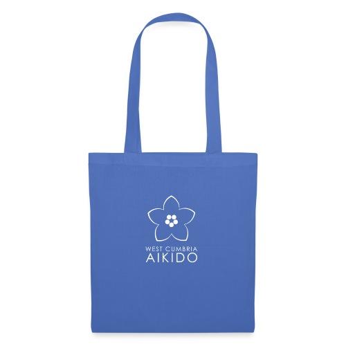 WEST CUMBRIA AIKIDO logo transparent White - Tote Bag
