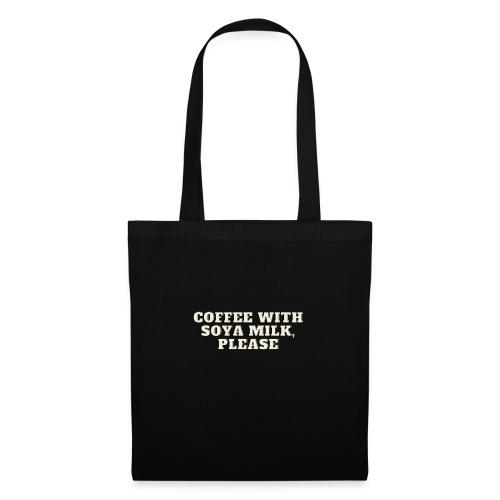 Café Con Leche De Soja - Bolsa de tela
