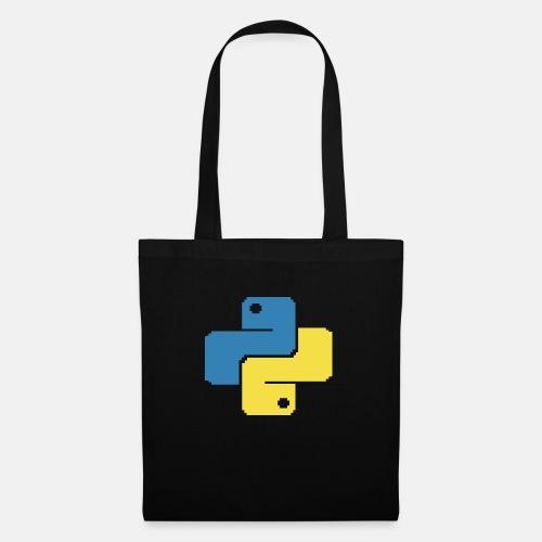 Python Pixelart - Tote Bag