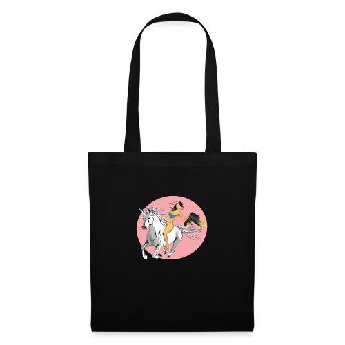 unicorn laser bikini girl - Tote Bag