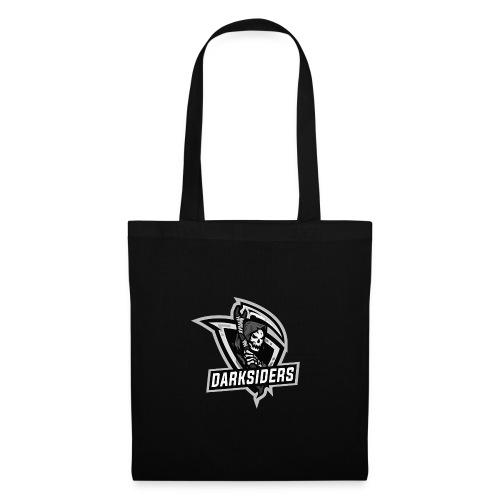 logo darksiders blanco negro - Bolsa de tela
