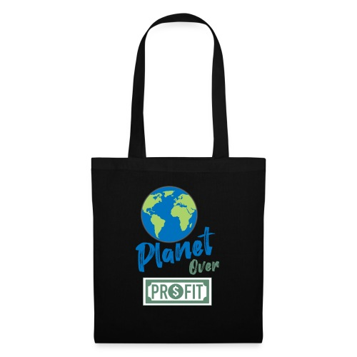 planet over profit - Tote Bag