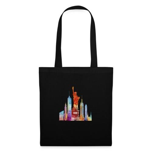 new york city watercolor - Tote Bag