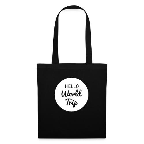 Hello World Trip - Stoffbeutel