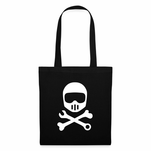 Helmet Bones N Tools - Tote Bag