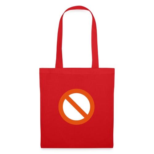 verboden - Tas van stof