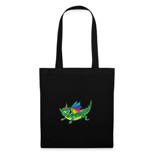 happy dragon - Stoffbeutel