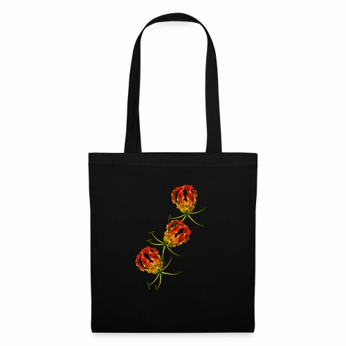 Flame Lily x 3 - Tote Bag