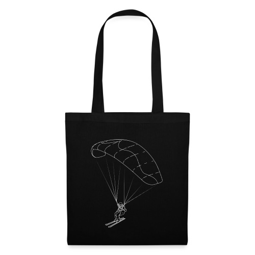 Speedriding Speedflying fine line sketch - Stoffbeutel
