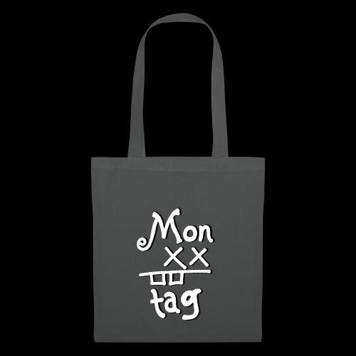 Montag x_x - Stoffbeutel