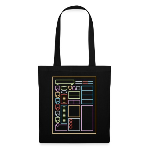 Dnd Character Sheet - DnD Dungeons & Dragons D & D - Tote Bag