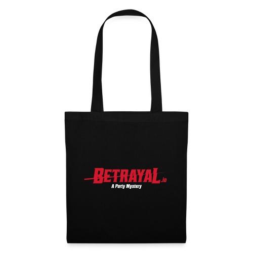 00419 Betrayal logo blanco - Bolsa de tela