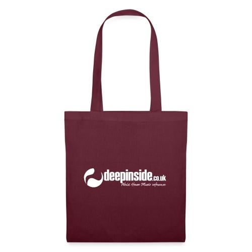 DEEPINSIDE World Reference logo white - Tote Bag