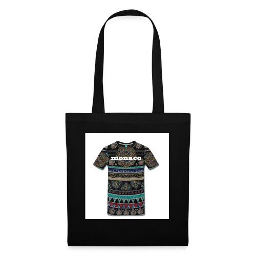 monaco mandala colores - Bolsa de tela