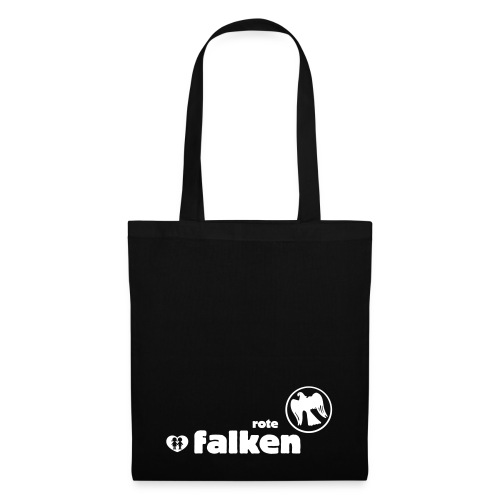 RF Logo Schriftzug schwarz - Stoffbeutel