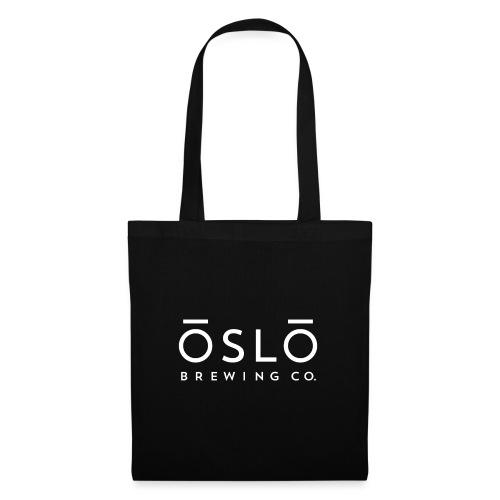 OSLO BREWING CO - Logo White - Tote Bag