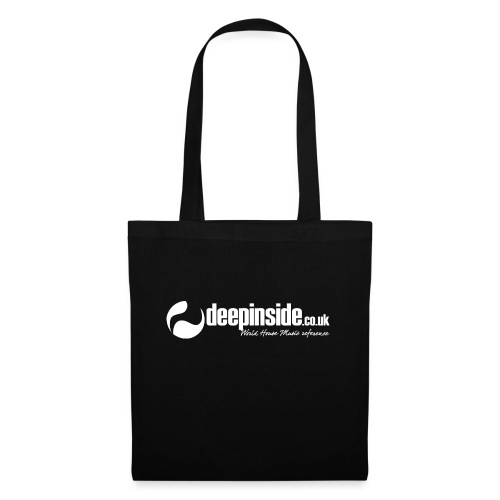 DEEPINSIDE World Reference logo white - Tote Bag