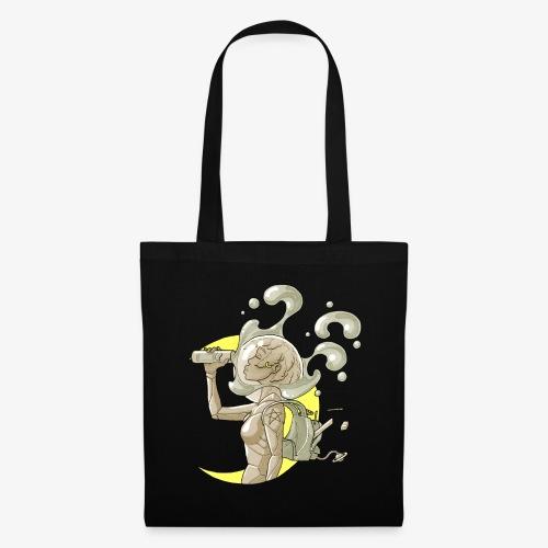 moon space drink cosmonaut girl - Tote Bag