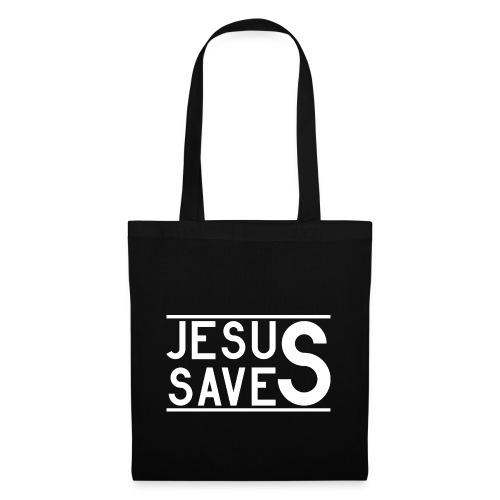 Jesus Saves - Stoffbeutel