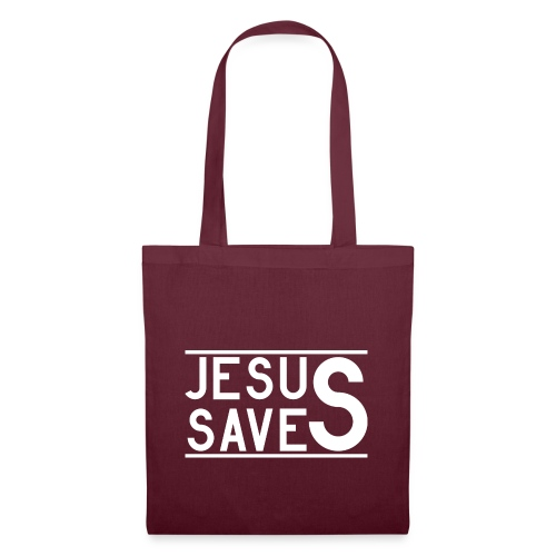 Jesus Saves - Stoffbeutel