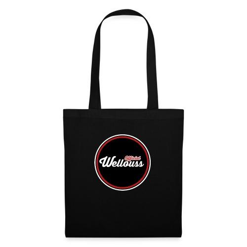 Wellouss Fan T-shirt | Rood - Tas van stof
