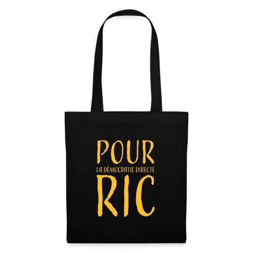 Pour une démocratie directe RIC, gilets jaunes - Tote Bag