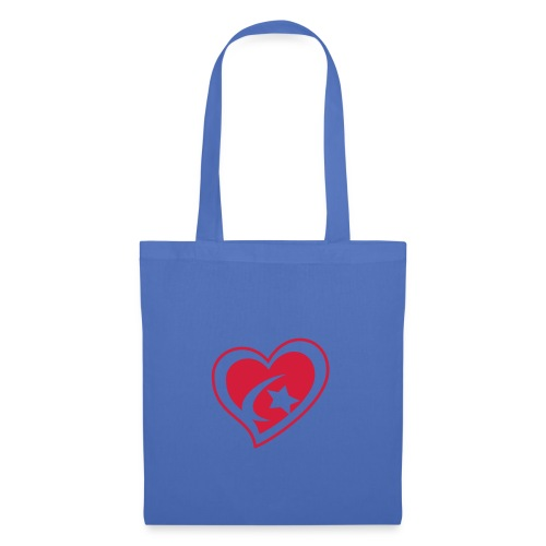 Red Star Heart - Tote Bag