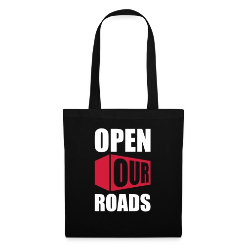 OOR Logo stacked neg - Tote Bag