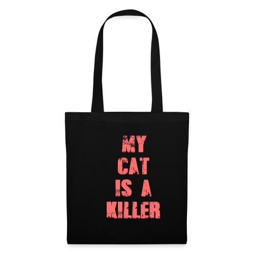 My Cat is a Killer - Stoffbeutel