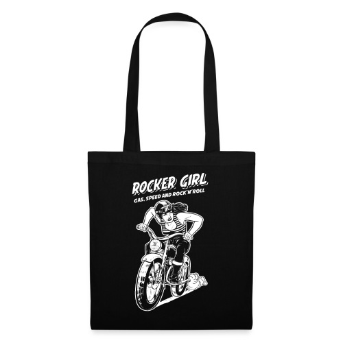 Rocker Girl - Stoffbeutel