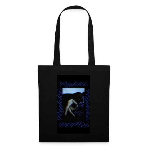 Rykki Lila Logo Handsign R - Stoffbeutel
