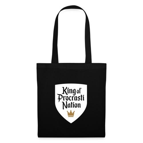 King Of ProcrastiNation - Stoffbeutel