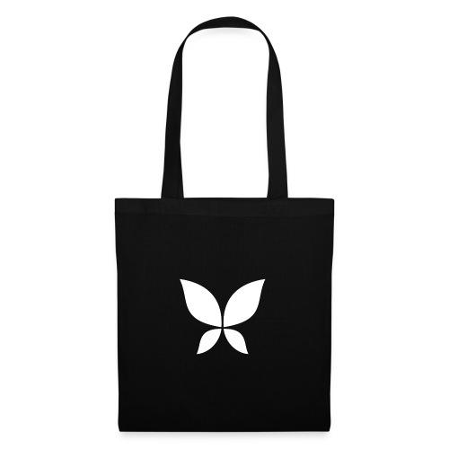 Stahlzart Butterfly White - Stoffbeutel