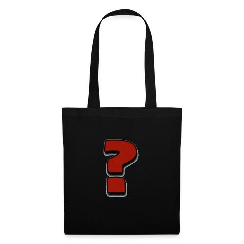 Interrogación - Bolsa de tela