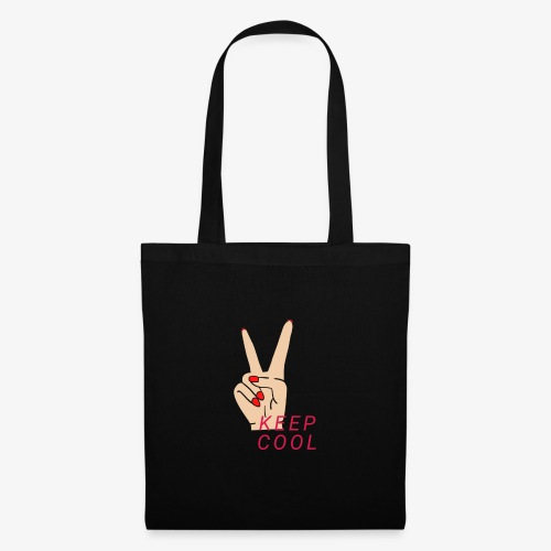 Keep Cool - Keep Calm - Tote Bag