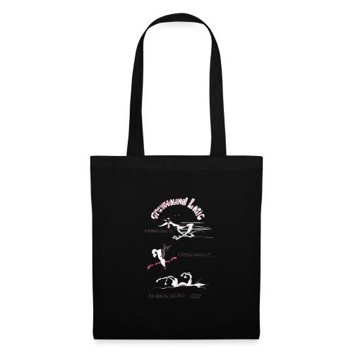 Greyhound Logic - Tote Bag
