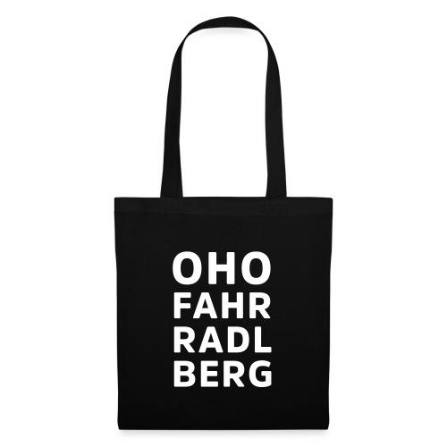 Oho Fahrradlberg - Stoffbeutel