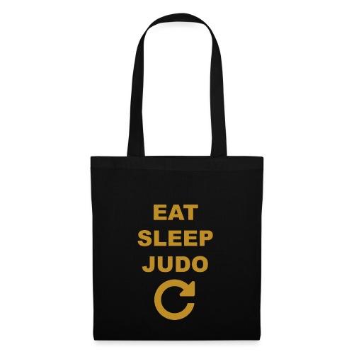 Eat sleep Judo repeat - Torba materiałowa