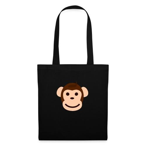 Happy Monkey - Stoffbeutel