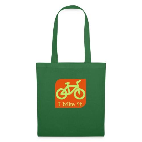 fiets logo - Tas van stof