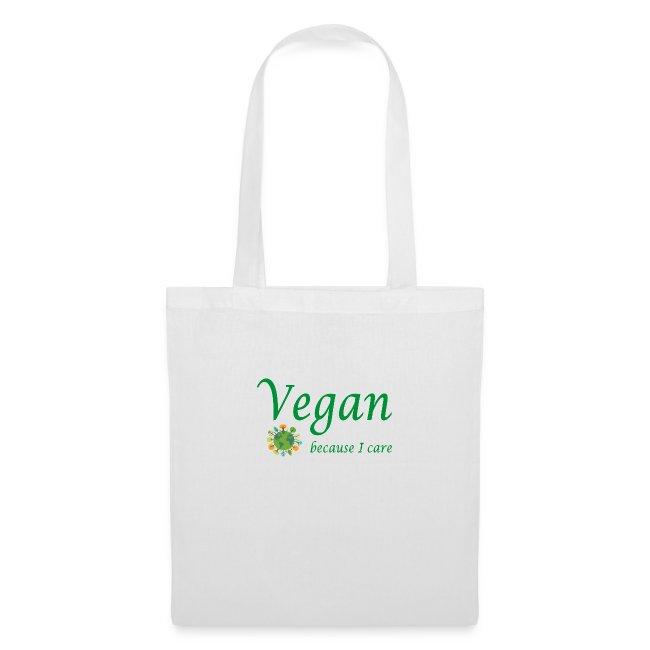 vegan because i care