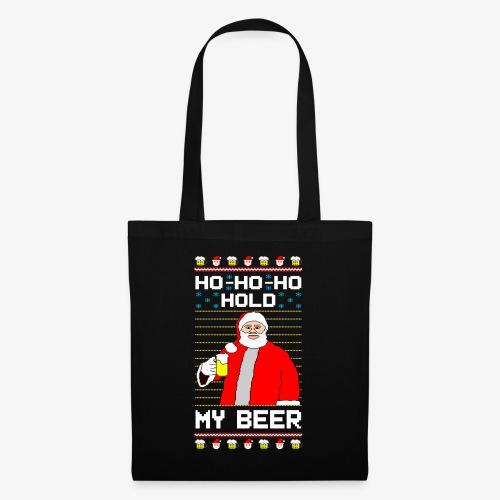 Holdy My Beer Santa Ugly Christmas - Stoffbeutel