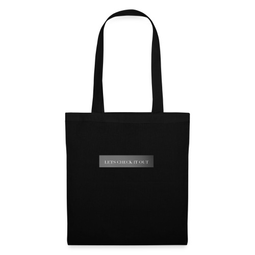 Let's check it out - Tote Bag