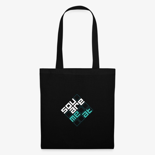 Squaremeat Cyan - Tote Bag