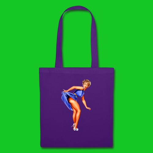 pin up girl 2 - Tas van stof