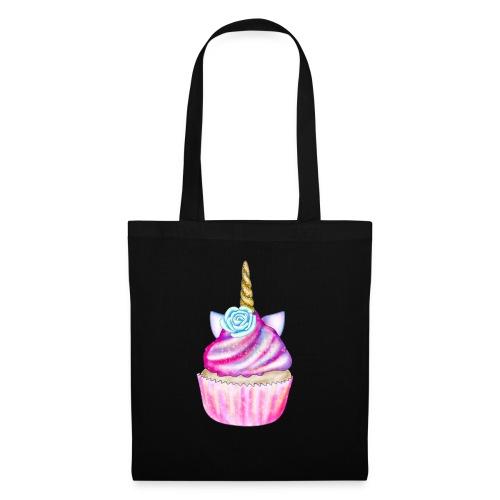 unicorn cupcake - Borsa di stoffa