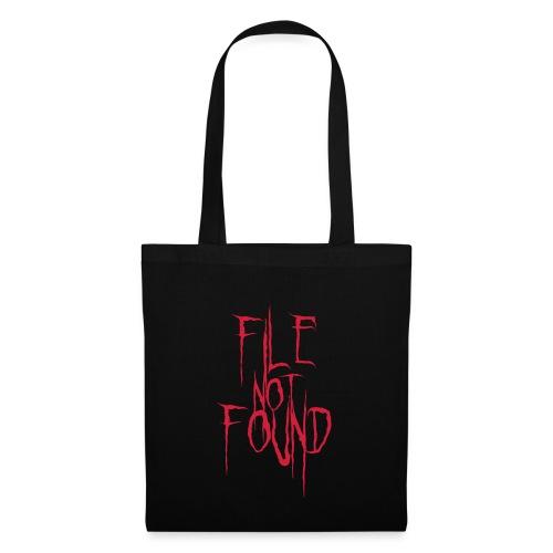 File Not Found - Borsa di stoffa